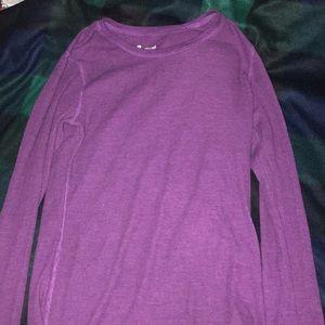 Purple long sleeve shirt(never worn)